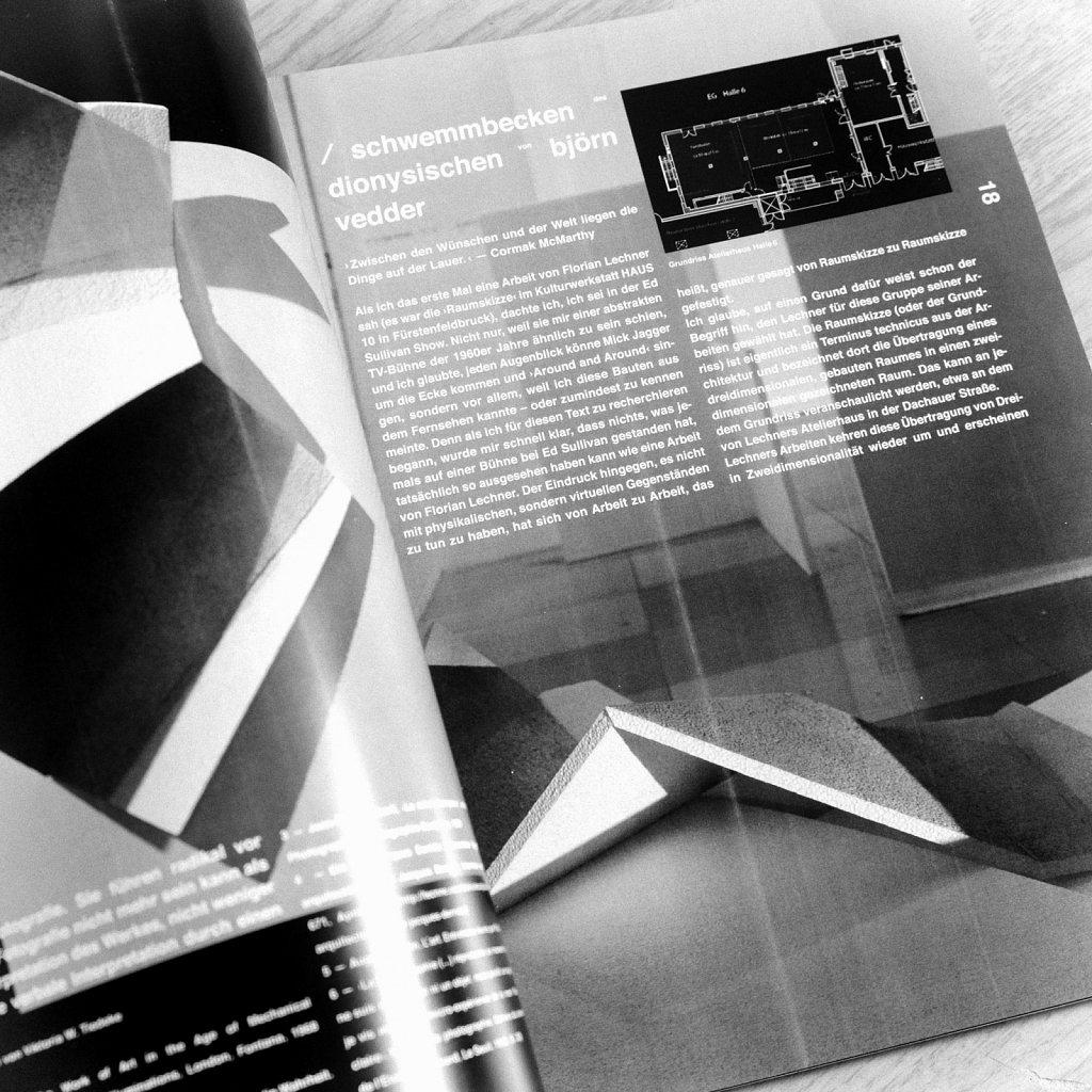 florian lechner eins - katalog - monographie