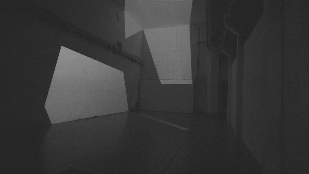 spaces . (lichtskulptur hannover) . florian lechner . 2016