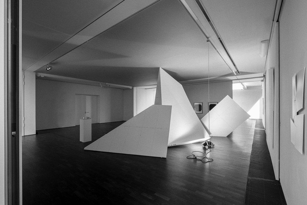 raumskizze (galerie thomas modern), florian lechner, 2014