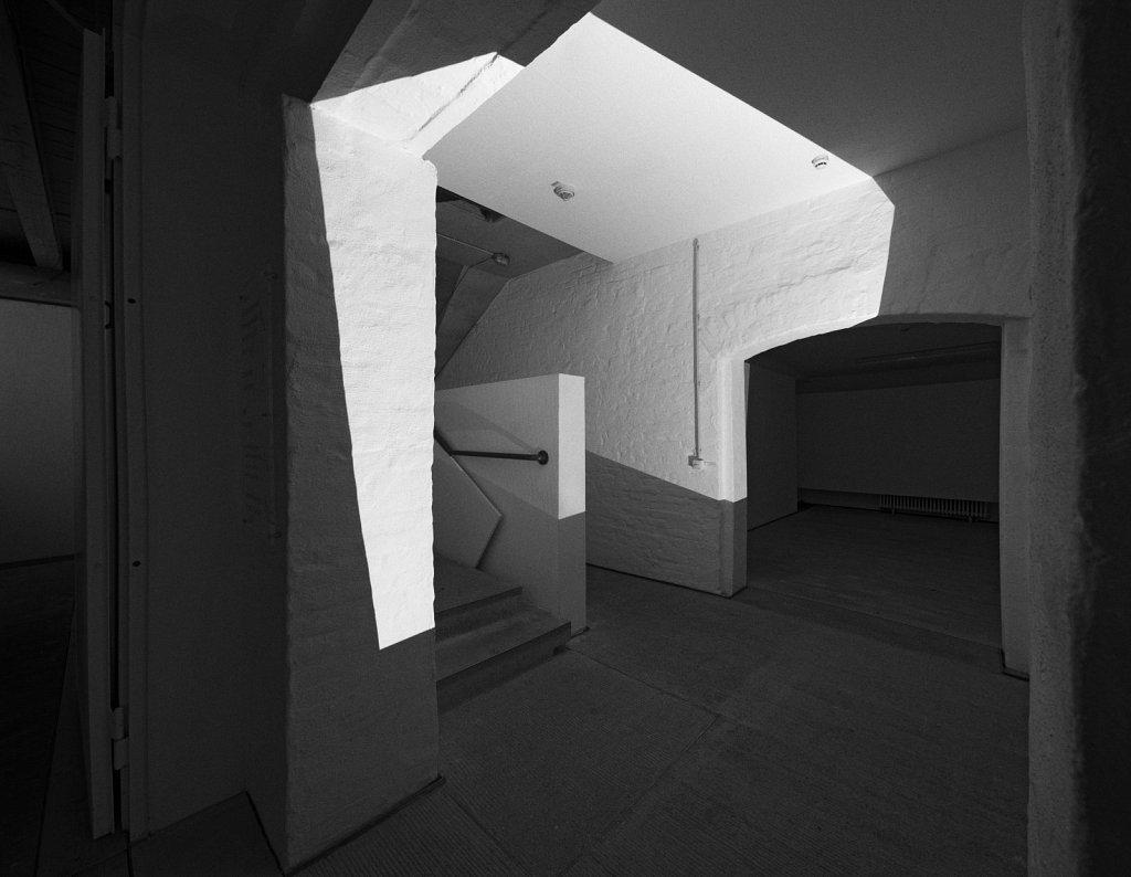räume . raumskizze (künstlerhaus freising), florian lechner, 2015