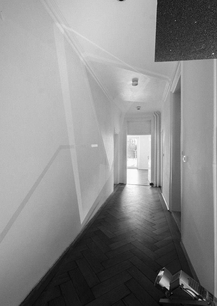spaces . 190207 (raumskizze galerie rettberg) . florian lechner . 2019